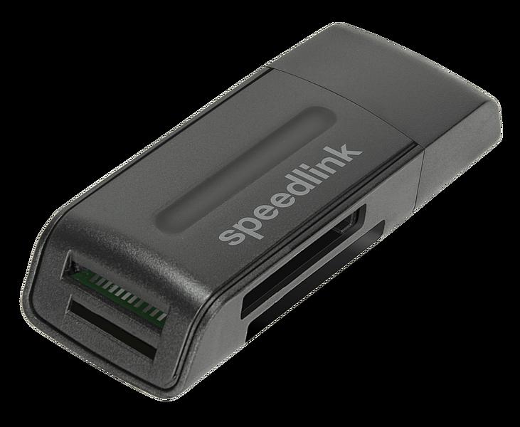 SNAPPY PORTABLE USB Card Reader USB 2.0, black