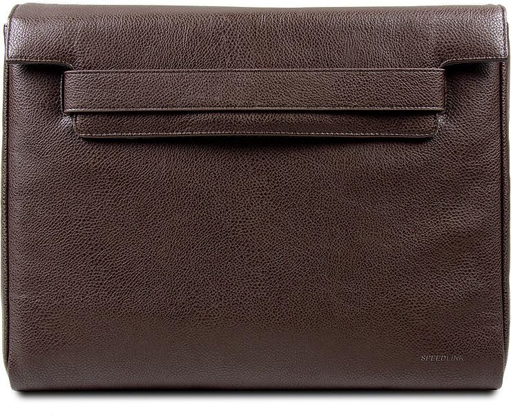 14,1''/35,8cm SEPYA Notebook Messenger Bag, brown