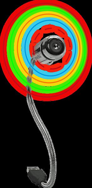 AERO LED USB Fan, multicolour