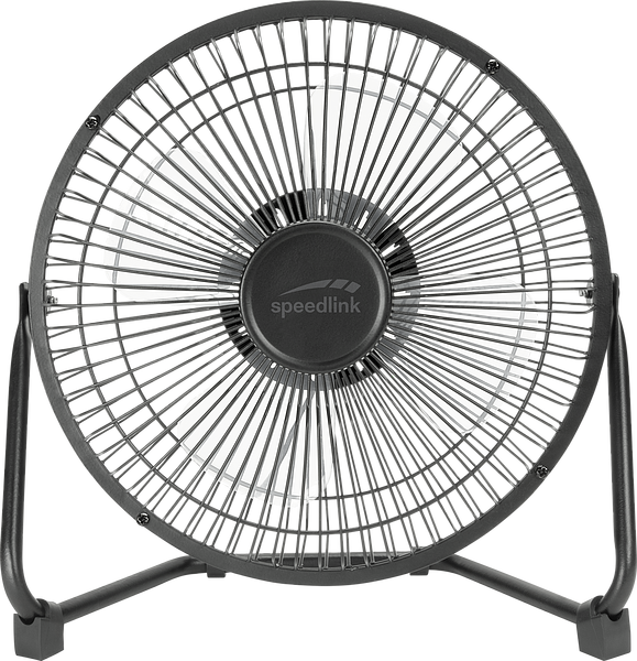 TORNADO METAL XXL Desk Fan, black