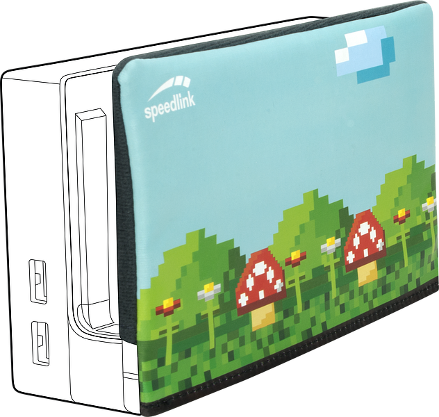 GUARD Protection Cover - for Nintendo Switch Station, multicolour