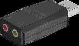 VIGO USB Sound Card, black