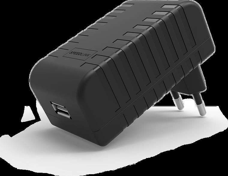 FUZE USB Power Supply - for Nintendo Switch, black