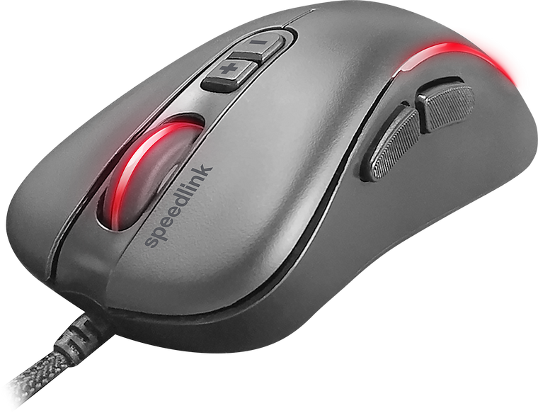 ASSERO Gaming Mouse, black