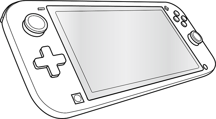 GLANCE PRO Tempered Glass Protector Set - for Nintendo Switch Lite