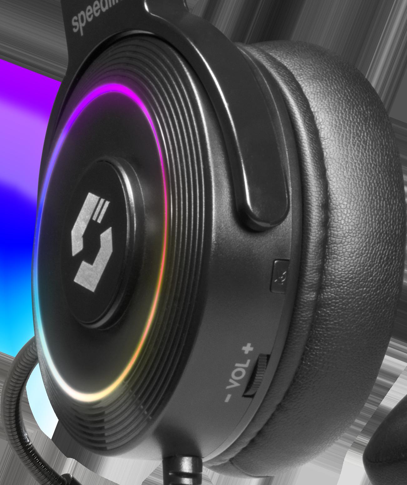 ORIOS RGB 7.1 Gaming Headset, black