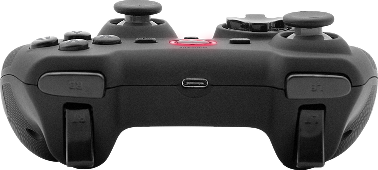 RAIT Gamepad - Wireless - for PC/PS3/Switch/OLED, rubber-black