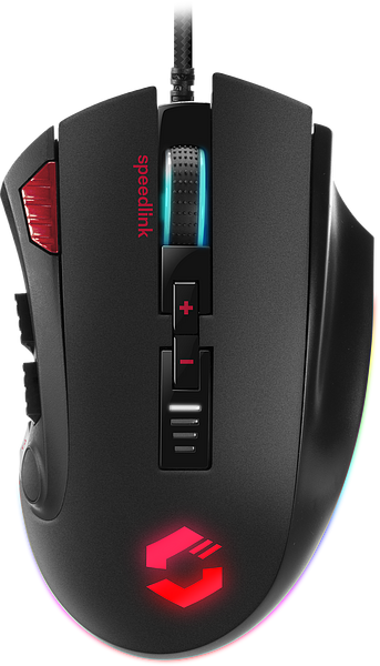 TARIOS RGB Gaming Mouse, black