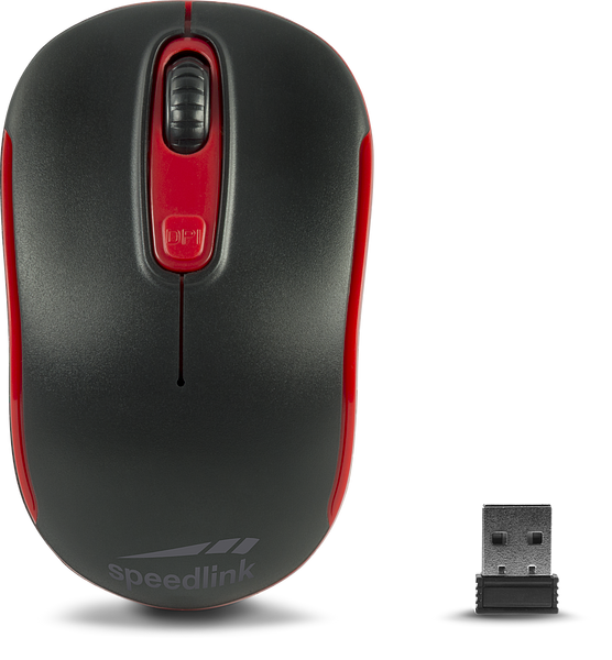 CEPTICA Mouse - Wireless, black-red