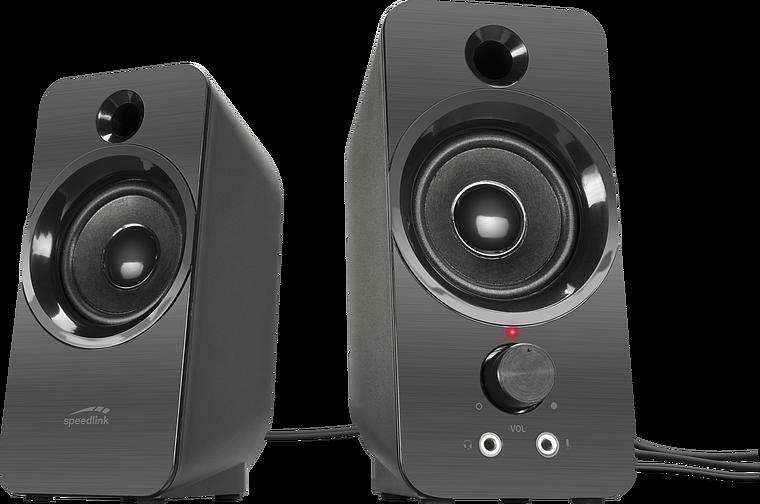 DAROC Stereo Speaker, black