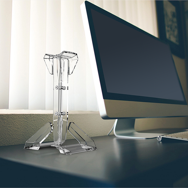 GANT Acrylic Headset Stand, clear