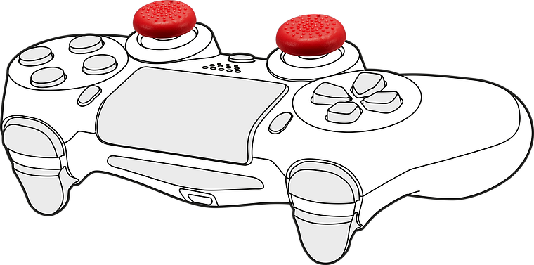STIX Controller Cap Set - for PS5/PS4, multicolor