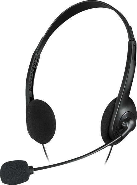 ACCORDO Stereo Headset, black