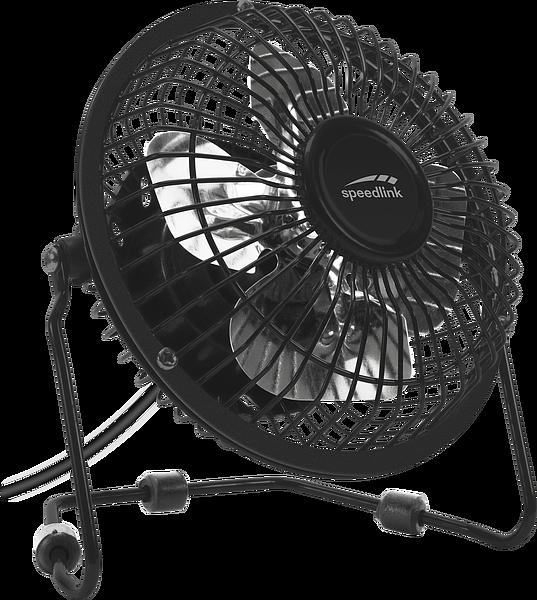 TORNADO METAL Desk Fan, black