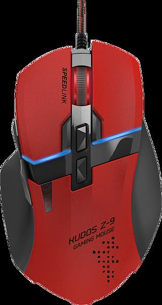 KUDOS Z-9 Gaming Mouse, red