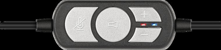 SONID Stereo Headset - USB, black-grey