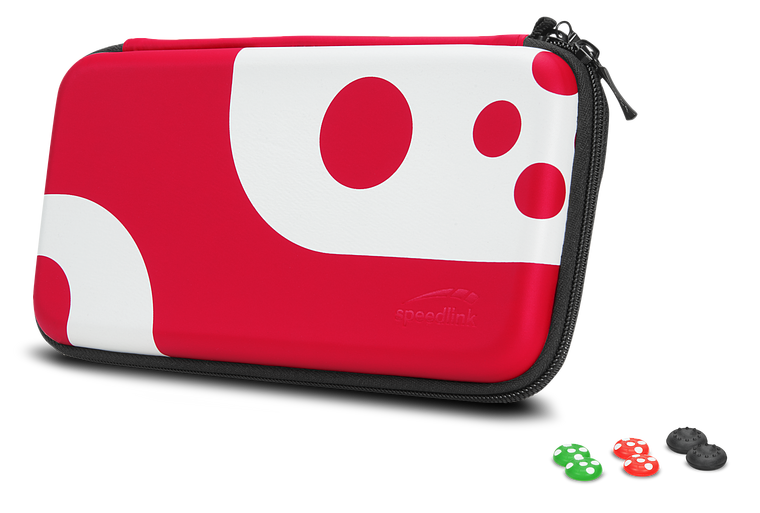 CADDY & STIX Protect & Control Kit - for Nintendo Switch, black-red