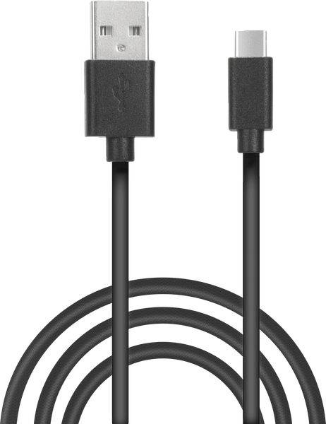 STREAM Play & Charge USB-C Cable Set for PS5, black