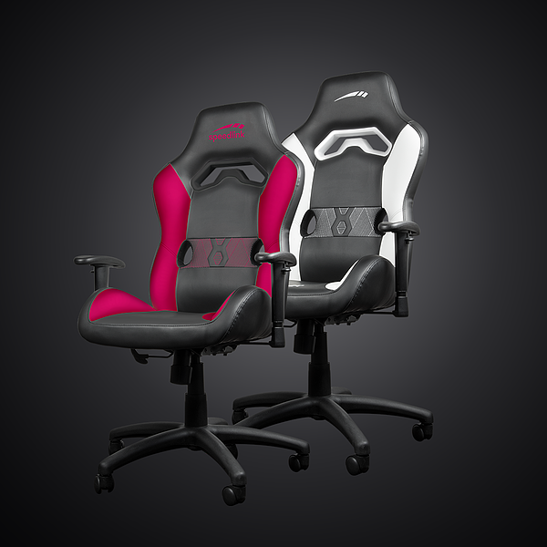 LOOTER Gaming Chair, black-pink