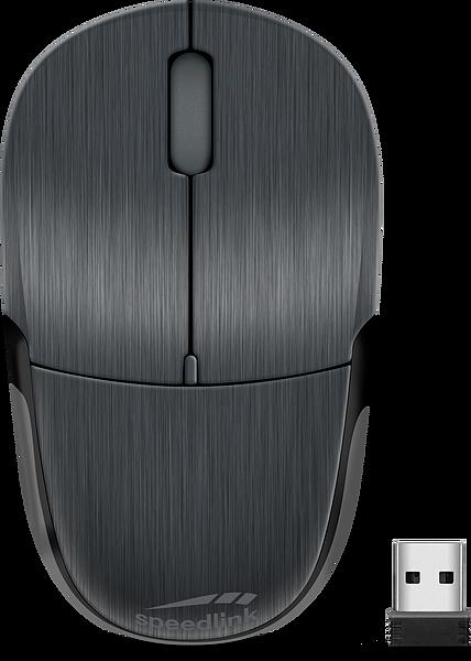 JIXSTER Mouse - Wireless, black