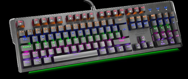 VELA LED Mechanical Gaming Keyboard, black