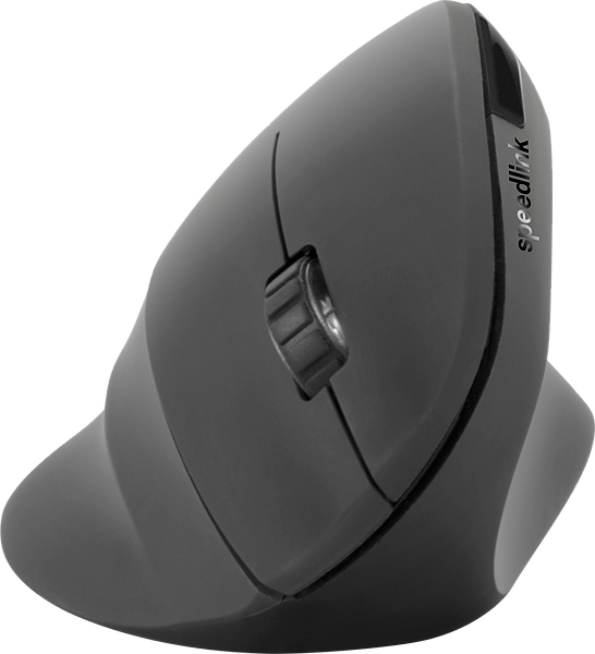PIAVO Ergonomic Vertical Mouse - Wireless, black