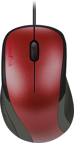 KAPPA Mouse - USB, red