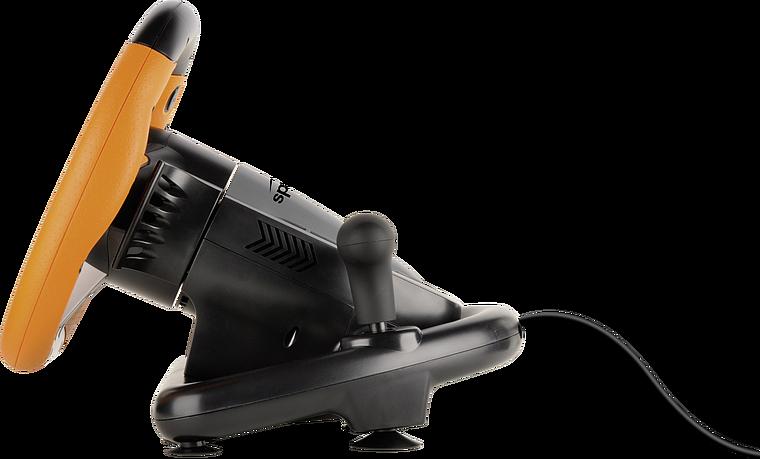 DRIFT O.Z. Racing Wheel PC, black-orange