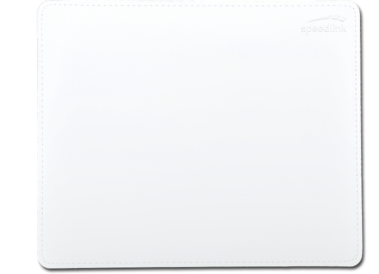 NOTARY Soft Touch Mousepad, white