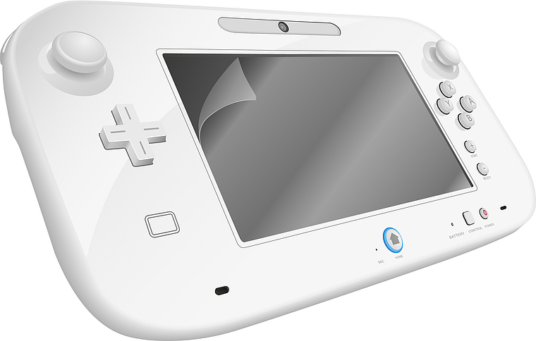 GLANCE Screen Protection Kit - for Wii U, clear
