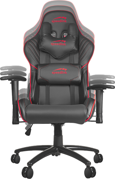 ZAYNE Gaming Chair, black-red