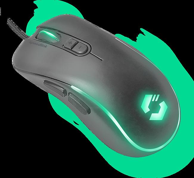 ASSERO Gaming Mouse, black
